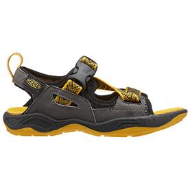 Keen Rock Iguana - Sandales Enfant - jaune/noir